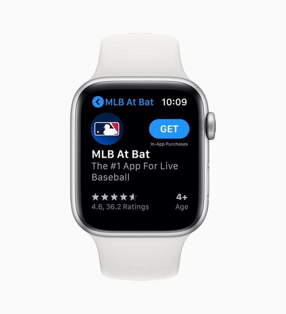 Apple Watch 上的 App Store。