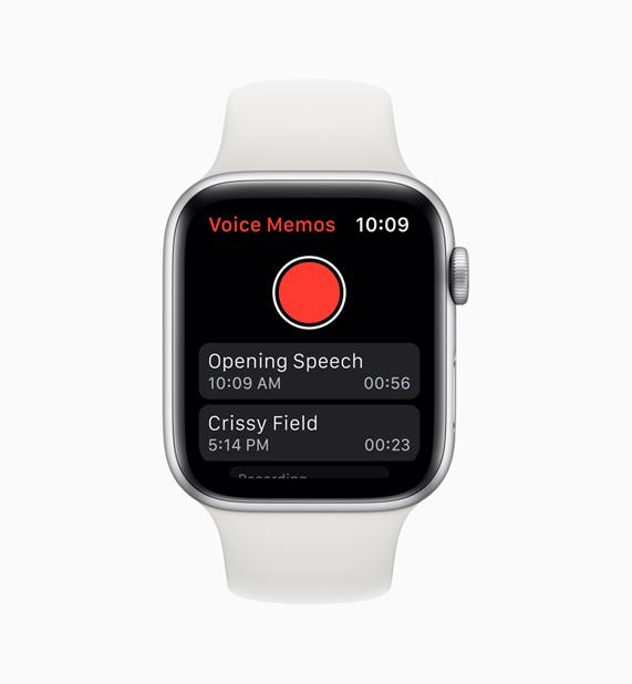 语音备忘录 app。
