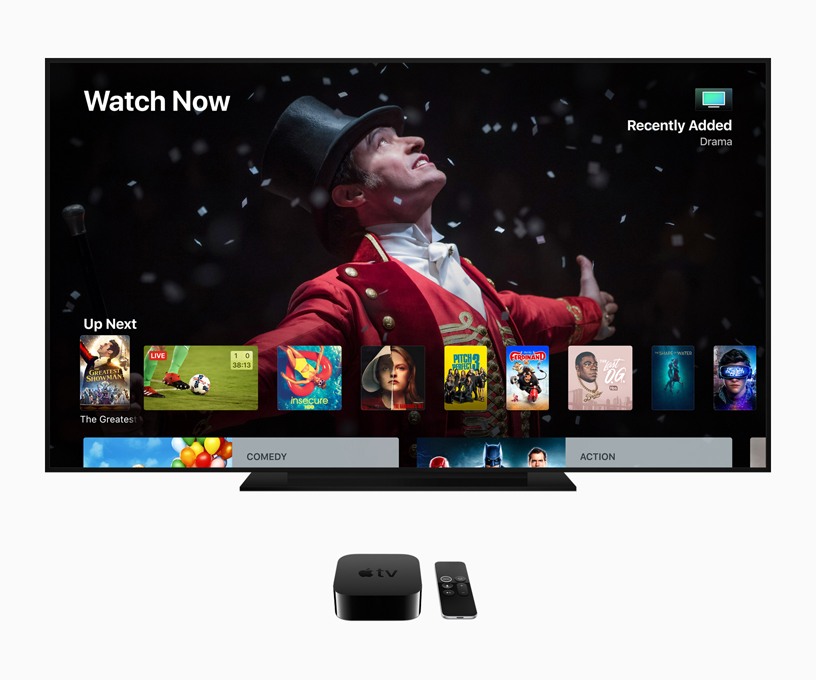 Apple TV 上的 Watch Now App 图片