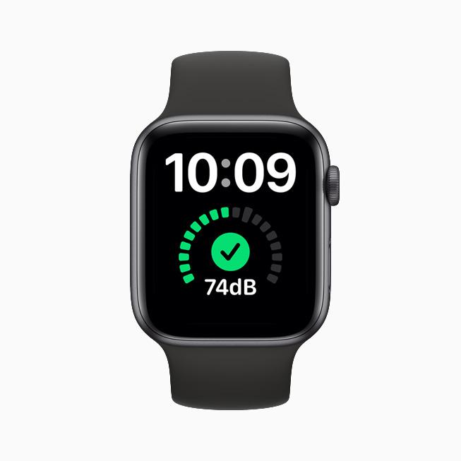 Apple Watch 上的噪声检测功能。