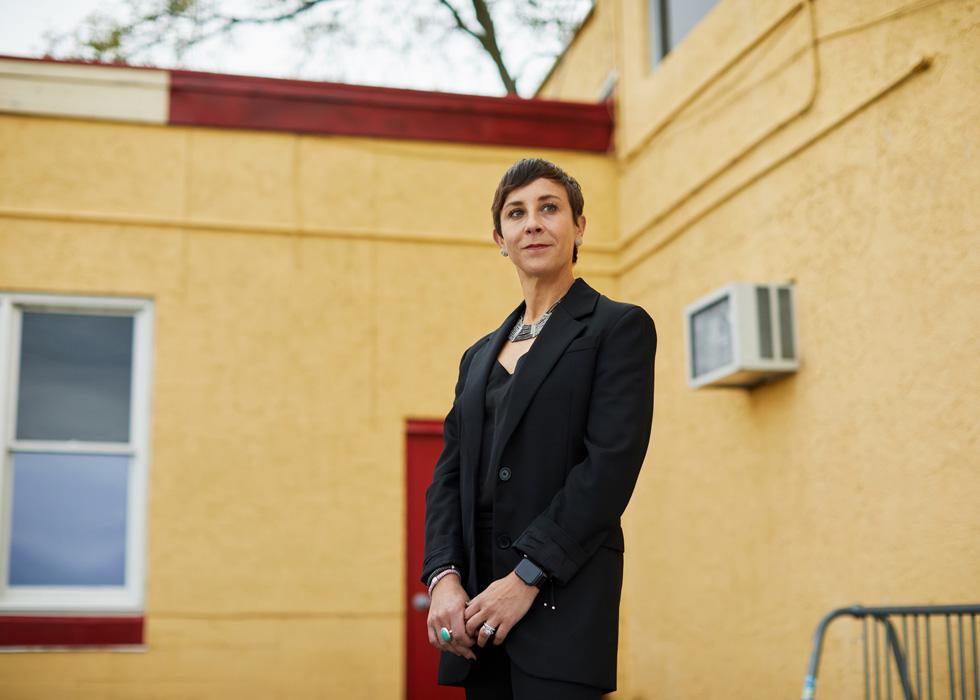 大西洋城 Boys & Girls Club 的 CEO Stephanie Koch。