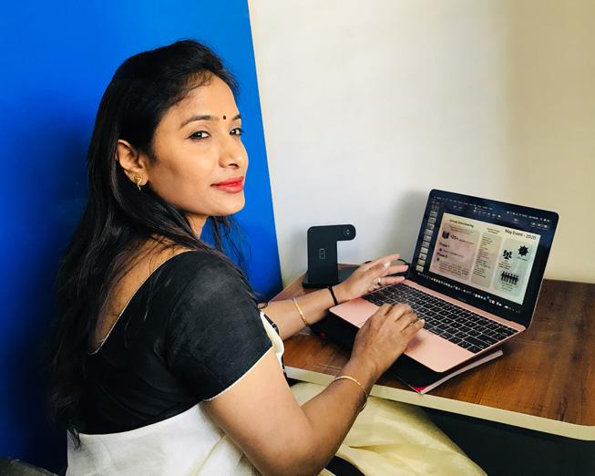 Chandrika Raghunath,Apple 员工。