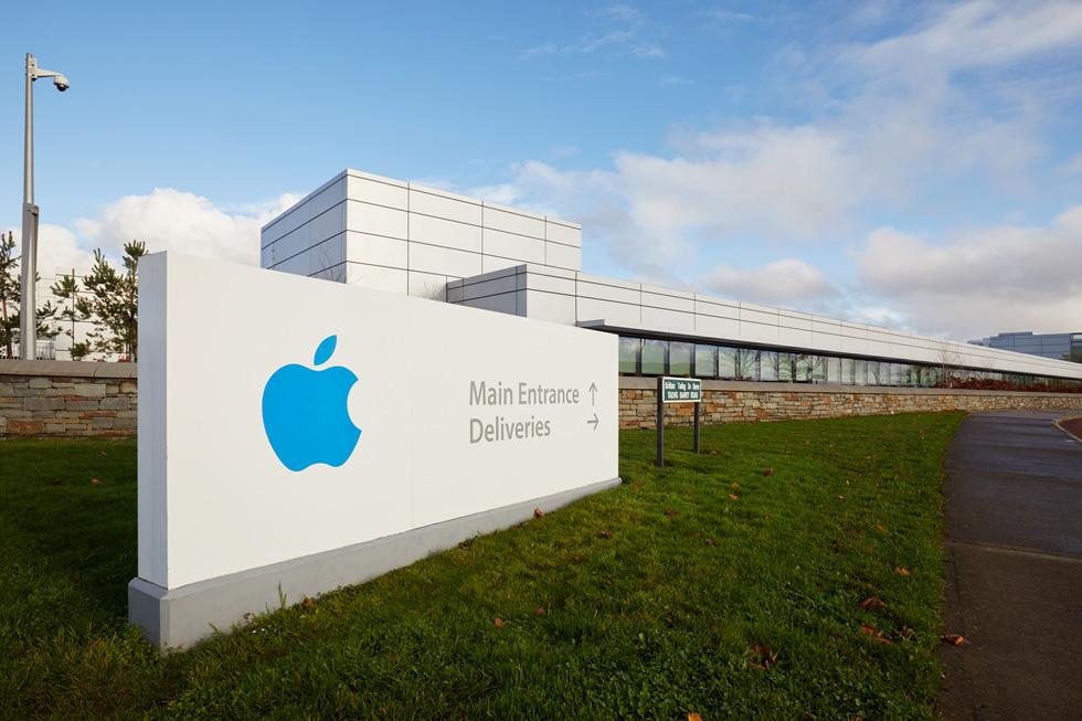 今日,路边视角的 Apple 爱尔兰科克园区。