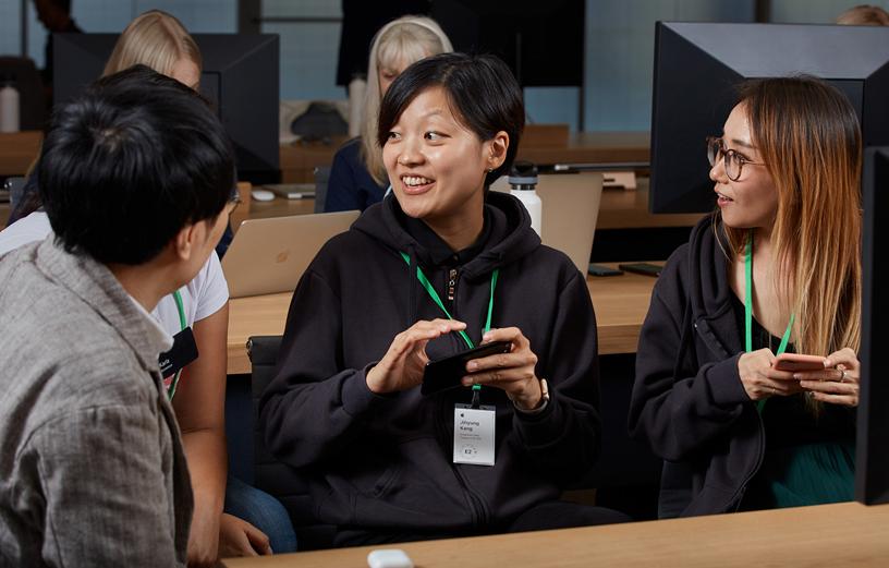 Apple 企业家培训营。