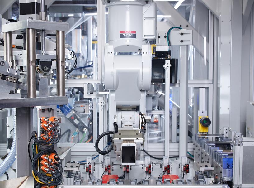 Apple 的拆解机器人 Daisy。