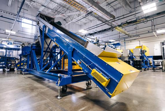 Apple 位于美国德克萨斯州奥斯汀的材料回收实验室。