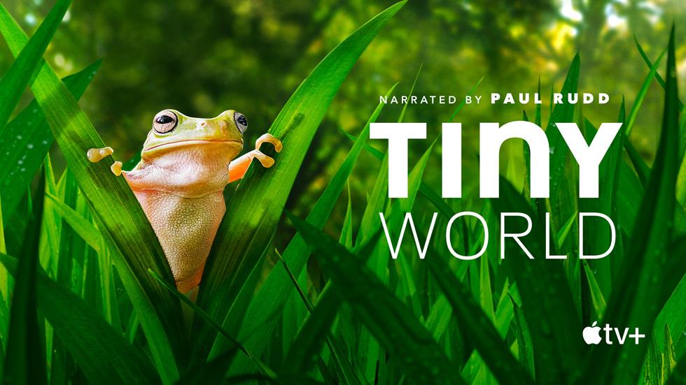 Apple Originals 原创剧集《Tiny World》的卡片。