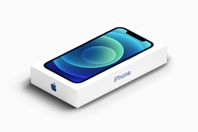 iPhone 12 外包装。